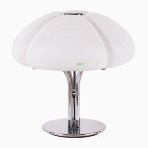 Grande Lampe de Bureau Quadrifoglio par Gae Aulenti pour Guzzini, années 70