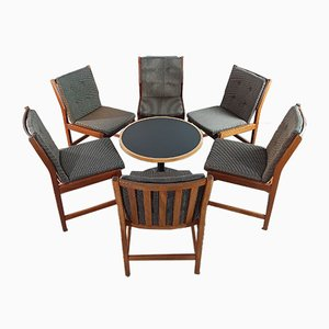 Mid-Century Dining Chairs by Kurt Østervig for KP Møbler, Set of 6