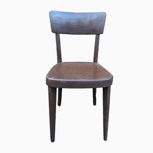 Beech Bistro Chairs from Tutsch, 1950s, Set of 44