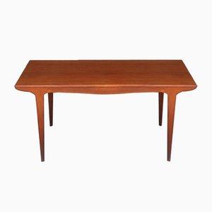 Mesa de comedor de teca de Johannes Andersen para Samcon, años 60