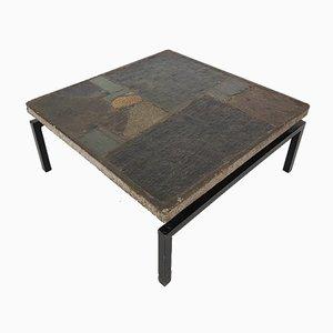 Mesa de centro con mosaico de Paul Kingma, 1963