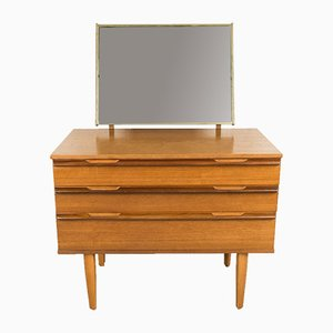 Teak and Beech Avalon Dressing Table from Avalon, 1960s
