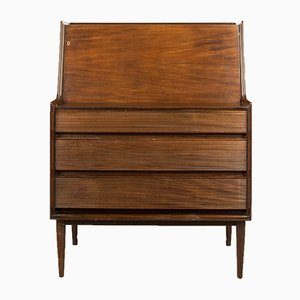Afromosia Secretaire by Richard Hornby for Fyne Ladye, 1960s