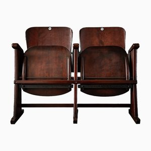 Beech Plywood Movie Theater Seating, 1940s