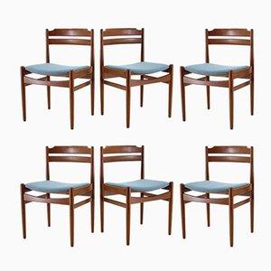 Chaises de Salle à Manger en Teck de Sorø Stolefabrik, Danemark, années 60, Set de 6