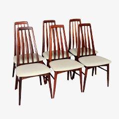 Eva Chairs von Niels Koefoed für Koefoed Hornslet, 1964, 6er Set