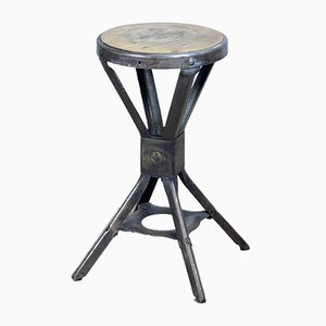 British Factory Stool from Evertaut, 1950s