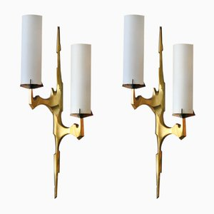 Sconces by Felix Agostini for Maison Arlus, 1960s, Set of 2