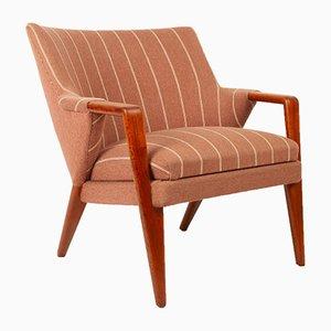 Danish Teak Lounge Chair by Kurt Olsen for Slagelse Møbelværk, 1950s