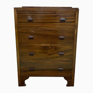 English Mahogany Commode, 1930s