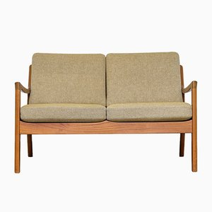 Senator Two-Seater Teak Sofa by Ole Wanscher for Cado, 1960s