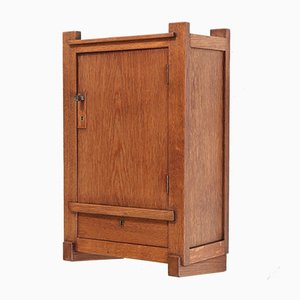 Art Deco Oak Cabinet by H. Wouda for H. Pander & Zn., 1924