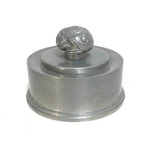 Boîte de Couvercle en Étain par Hans Bergström pour Ystad-Metall, 1939