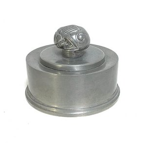 Pewter Lid Box by Hans Bergström for Ystad-Metall, 1939