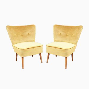 Scandinavian Lounge Chairs, 1962, Set of 2