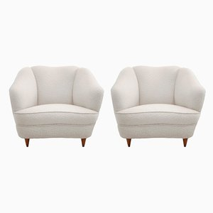 Italian Armchairs by Gio Ponti for Casa e Giardino, 1936, Set of 2