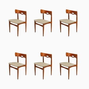 Chaises de Salle à Manger par Johannes Andersen pour Bramin, années 60, Set de 6