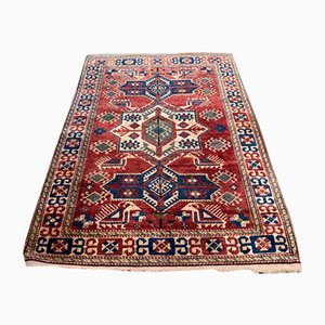 Mid-Century Handmade Wool Rug