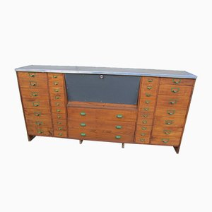 Shop Counter Credenza, 1950s