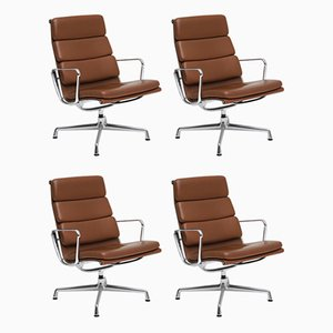 Armchairs by Charles & Ray Eames for Vitra, 1990s, Set of 4