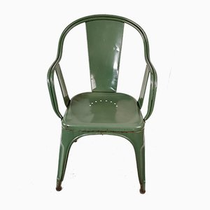 Model C Armchair Chair by Xavier Pauchard for Tolix, 1940s
