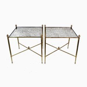 Tables d'Appoint Vintage de Maison Baguès, Set de 2