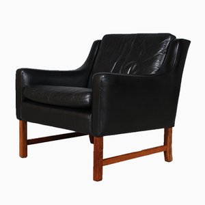 Mid-Century Rosewood Lounge Chair by Fredrik A. Kayser for Vatne Møbler