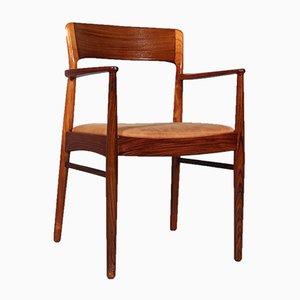 Armlehnstuhl aus Palisander von Henning Kjærnulf für Korup Stolefabrik, 1960er