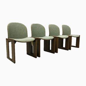 Esszimmerstühle von Tobia & Afra Scarpa für B & B Italia / C & B Italia, 1973, 4er Set