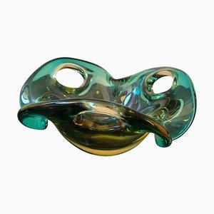 Murano Glass Bowl from Seguso, 1970s