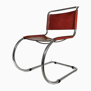 Chaise MR10 par Ludwig Mies van der Rohe pour Fasem, années 70
