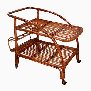 Bamboo Trolley from Vittorio Bonacina, 1960s