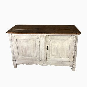 Antique White Buffet or TV Cabinet