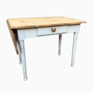 Small Vintage Farm Table, 1920s