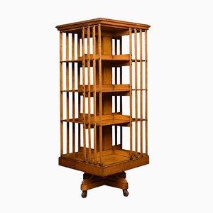 Large Antique Oak Bookcase