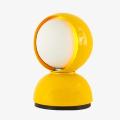 Yellow Eclipse Lamp by Vico Magistretti for Artemide, 1967