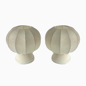 Cocoon Table Lamps by Castiglioni Brothers for Lichtstudio Eisenkeil, 1960s, Set of 2