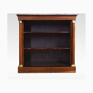 Antique Rosewood Bookcase