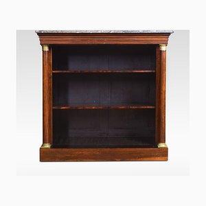 Librería antigua de palisandro