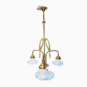 Antike Art Déco Deckenlampe