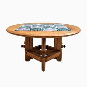 Ladislas Pedestal Side Table by Guillerme et Chambron for Votre Maison, 1970s