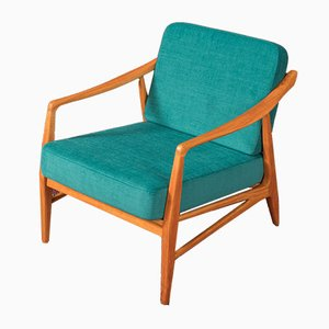 Cherry Lounge Chair, 1950s