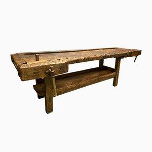 Grande Table de Travail Ancienne