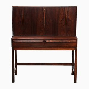 Rosewood Secretaire by Torbjørn Afdal for Bruksbo, 1960s