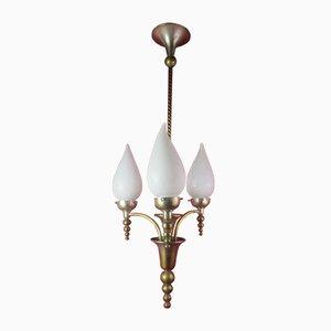 Lámpara de techo Art Déco antigua