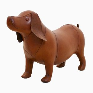 Leather Dog from Omersa United Kingdom, 1980s