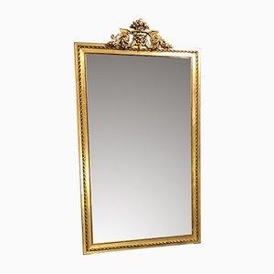 Large Antique Golden Mirror