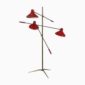 Italian Standing Floor Lamp, 1950s