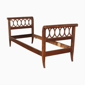 Antique Walnut Bed Structure