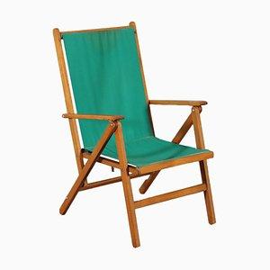 Liegestuhl aus Buche von Reguitti, 1950er